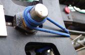 Solución rápida para Cable de cambio roto NuVinci CVT cubo usando un lazo del pelo