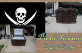 Cofre del tesoro del pirata refrigerador