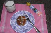 Haciendo más saludable Pascua Hot Cross bollos