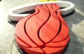 Calor de Miami Logo 3D