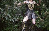 Disfraz de princesa guerrera Xena DIY