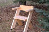 Una silla para el exterior