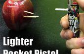 Mini pistola encendedor - la pistola encendedor de bolsillo