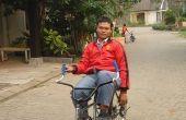 BMX y MTB el cambio en una simple bicicleta reclinada