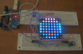 Arduino powered tres Color 8 x 8 Led matriz