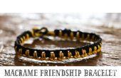 Macrame pulsera de la amistad (Tutorial)
