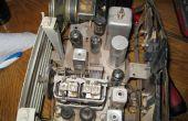 Actualizar radio de tubo con tapas nuevas y entrada IPOD/AUX