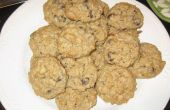 Galletas de avena saludable Chocloate Chip