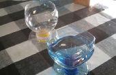 Vasos de botellas de plástico