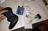 Nada de control con controlador de ps2 y Arduino (sin cables)