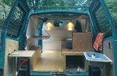 Conversión de la furgoneta DIY