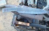 Haciendo un gran cuchillo de campo de una escofina vieja. Parte 2