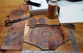 Torins tutoriales: La transferencia de la tinta de cuero de la Steampunk