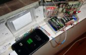 Sistema con seguimiento solar de carga solar para teléfonos
