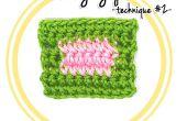 Cómo cambio de hilo en Crochet (técnica #2)