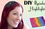 Resaltador de arco iris DIY inspirado prisma resaltador de encaje amarga belleza