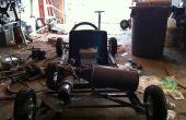 Motor de jet con motor Go-Kart