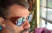 Protectores laterales de piel para gafas de sol