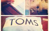 DIY cojín TOMS