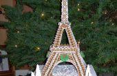 Torre Eiffel en gingerbread