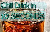 Enfriar bebida en 10 segundos!