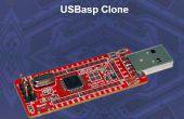 USBASP Bootloading un ATMega328p con un reloj interno de 8mhZ