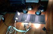 Simple transmisor QRP de energía solar