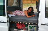 Cama plegable de Camper Van