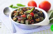 La deliciosa: Bhindi Fry