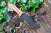 Diseñar y construir un cuchillo de espiga completa