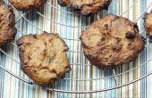 Vegana libre de gluten triple coco almendra mantequilla galletas suaves!