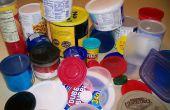 Usos inusuales para tapas de plástico