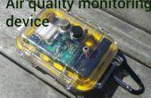 Dispositivo control de calidad de aire usando arduino