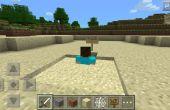 Cómo construir una trampa de arena rápida en Minecraft