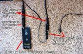 Control remoto para Sony NEX 5n cámara con cable