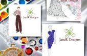 Cómo dibujar moda diseño ilustración Online