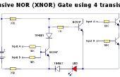 Más Digital Logic Gates sólo utilizando transistores