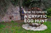 Cómo crear una búsqueda de huevos de críptico para la diversión de caza tesoro adulto