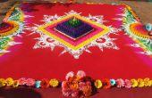 India boda Galicha especial... Colores de alfombra