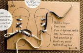 Cómo hacer que alguien Aprenda atar cordones de los zapatos de manera CUTE