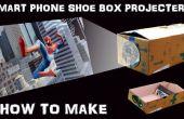 Como hacer proyector de pantalla de Smartphone con caja de zapatos