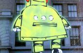 Plantilla de Robot de corte por láser