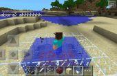 Cómo hacer un baño de fuego Minecraft!