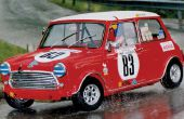 Knex Colin macrae Mini cooper rally car.