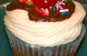 Triple Chocolate Cupcakes de helado