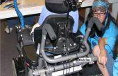 Cómo fabricar, configurar e instalar una cámara de sistema de copia de seguridad en una silla de ruedas