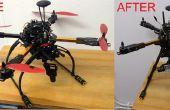 Agregar HML650 retractable tren de aterrizaje para quadcopter de HK X650F