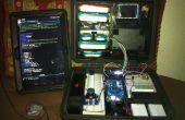 Kit portátil electrónica de experimento de laboratorio aprendizaje