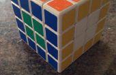 4 x 4 x 4 Rubiks cubo opuesto lado flores