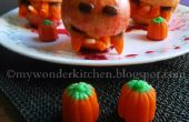 Monster| de manzana Merienda de Halloween